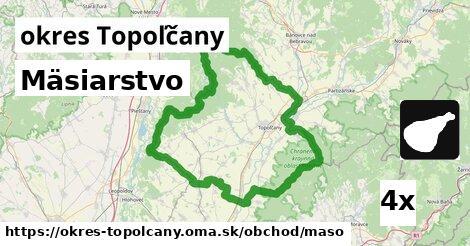 Mäsiarstvo, okres Topoľčany