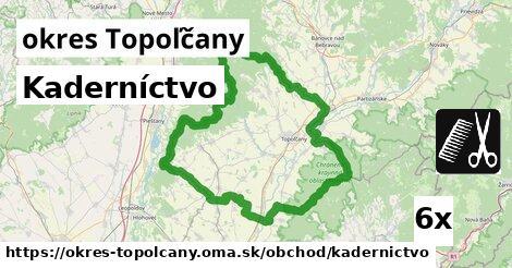 ilustračný obrázok k Kaderníctvo, okres Topoľčany