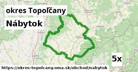 ilustračný obrázok k Nábytok, okres Topoľčany