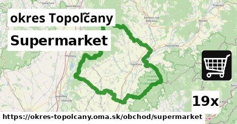 ilustračný obrázok k Supermarket, okres Topoľčany