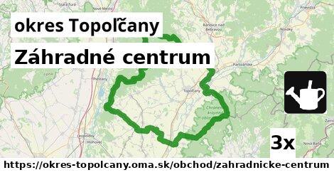 ilustračný obrázok k Záhradné centrum, okres Topoľčany