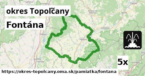 Fontána, okres Topoľčany