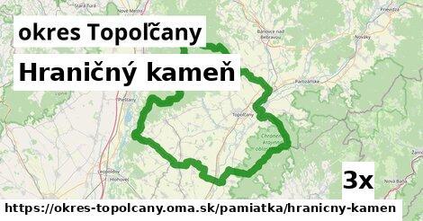 Hraničný kameň, okres Topoľčany