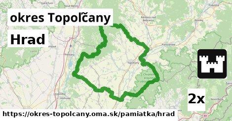 ilustračný obrázok k Hrad, okres Topoľčany