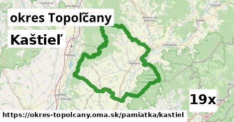 kaštieľ v okres Topoľčany
