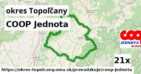 ilustračný obrázok k COOP Jednota, okres Topoľčany