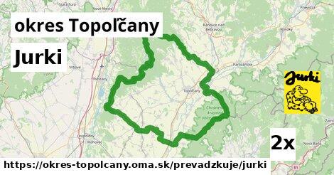 ilustračný obrázok k Jurki, okres Topoľčany