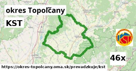 KST v okres Topoľčany