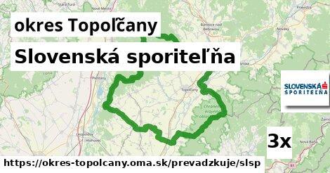 ilustračný obrázok k Slovenská sporiteľňa, okres Topoľčany
