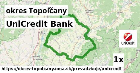 ilustračný obrázok k UniCredit Bank, okres Topoľčany