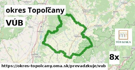 ilustračný obrázok k VÚB, okres Topoľčany