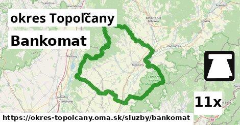 ilustračný obrázok k Bankomat, okres Topoľčany
