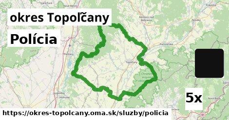 ilustračný obrázok k Polícia, okres Topoľčany