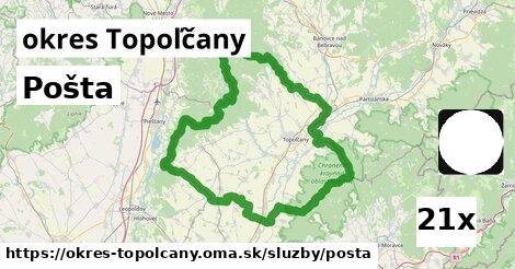 ilustračný obrázok k Pošta, okres Topoľčany