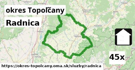 ilustračný obrázok k Radnica, okres Topoľčany