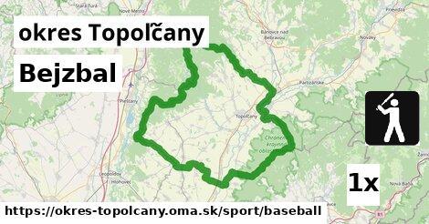 Bejzbal, okres Topoľčany