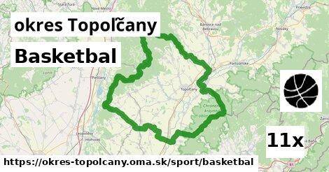 Basketbal, okres Topoľčany