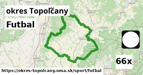Futbal, okres Topoľčany