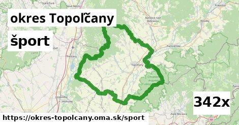 šport v okres Topoľčany