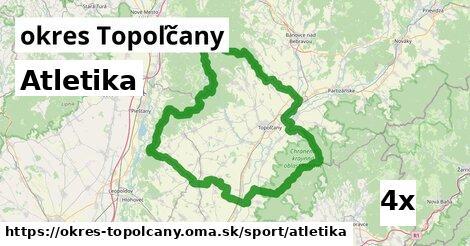 ilustračný obrázok k Atletika, okres Topoľčany