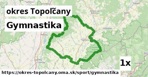 ilustračný obrázok k Gymnastika, okres Topoľčany