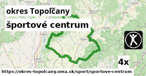 ilustračný obrázok k športové centrum, okres Topoľčany