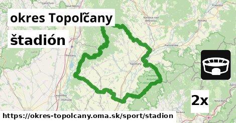 ilustračný obrázok k štadión, okres Topoľčany
