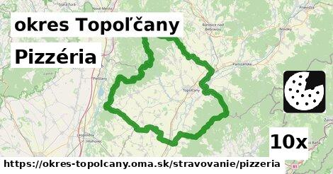 Pizzéria, okres Topoľčany