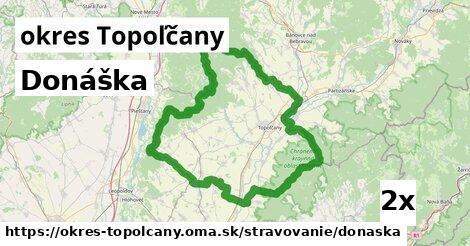 donáška v okres Topoľčany