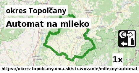 ilustračný obrázok k Automat na mlieko, okres Topoľčany