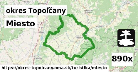 Miesto, okres Topoľčany