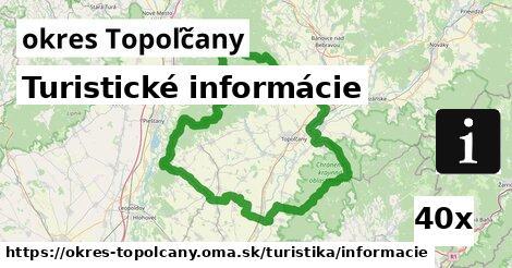 ilustračný obrázok k Turistické informácie, okres Topoľčany