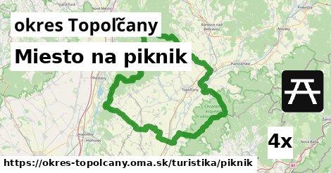 ilustračný obrázok k Miesto na piknik, okres Topoľčany