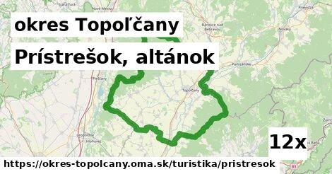 ilustračný obrázok k Prístrešok, altánok, okres Topoľčany