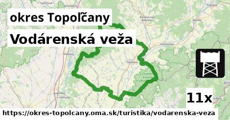 ilustračný obrázok k Vodárenská veža, okres Topoľčany