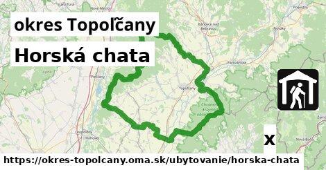 horská chata v okres Topoľčany