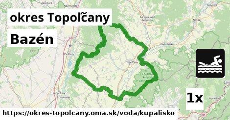 ilustračný obrázok k Kúpalisko, okres Topoľčany