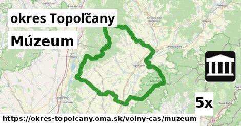 Múzeum, okres Topoľčany