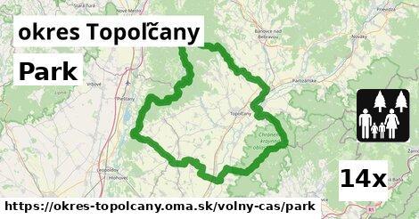 Park, okres Topoľčany