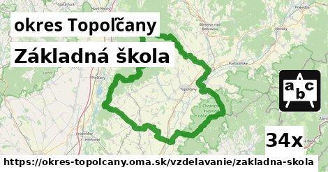 ilustračný obrázok k Základná škola, okres Topoľčany