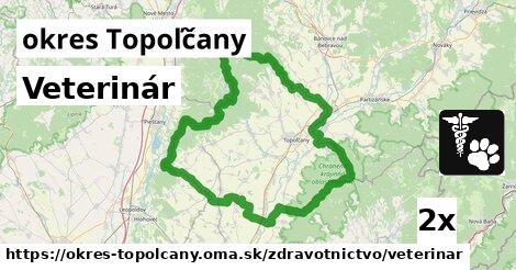 ilustračný obrázok k Veterinár, okres Topoľčany