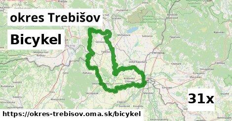 bicykel v okres Trebišov