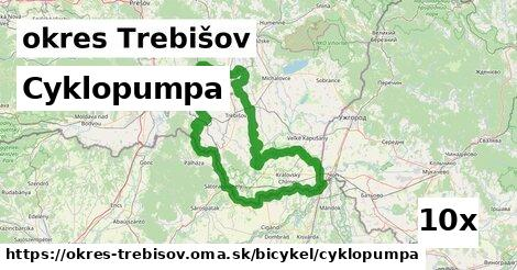 ilustračný obrázok k Cyklopumpa, okres Trebišov