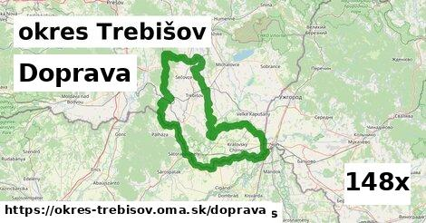 doprava v okres Trebišov