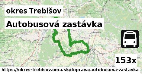 ilustračný obrázok k Autobusová zastávka, okres Trebišov