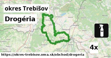 Drogéria, okres Trebišov