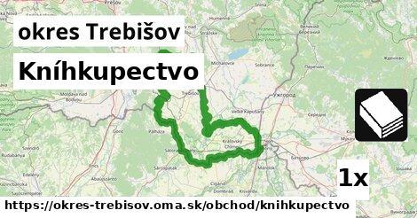 Kníhkupectvo, okres Trebišov
