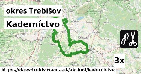 ilustračný obrázok k Kaderníctvo, okres Trebišov