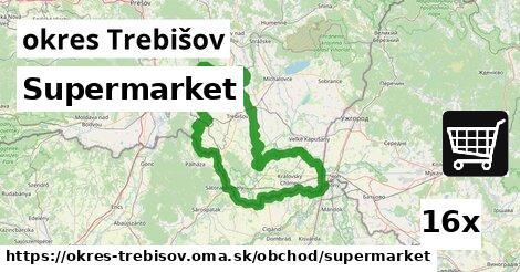 ilustračný obrázok k Supermarket, okres Trebišov