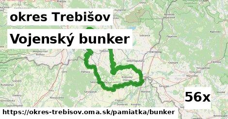 Vojenský bunker, okres Trebišov